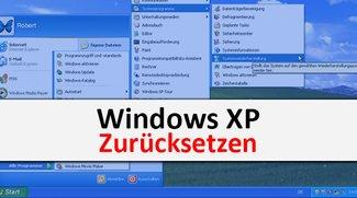 Windows XP zurücksetzen (ohne CD): so geht's