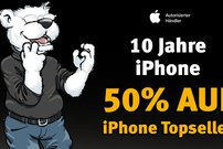 10 Jahre iPhone:<b> 50 % Rabatt auf Zubehör bei arktis.de – nur bis Montag</b></b>