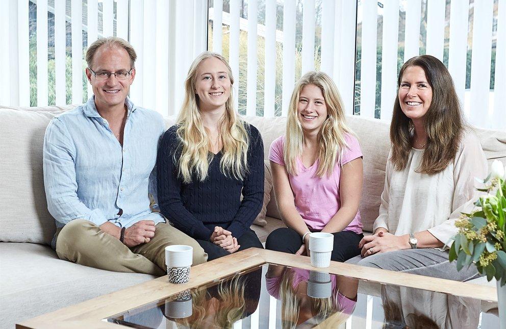 Die Hains aus Schweden testen für Volvo einen Roboterauto-Prototypen (Quelle: Volvo)