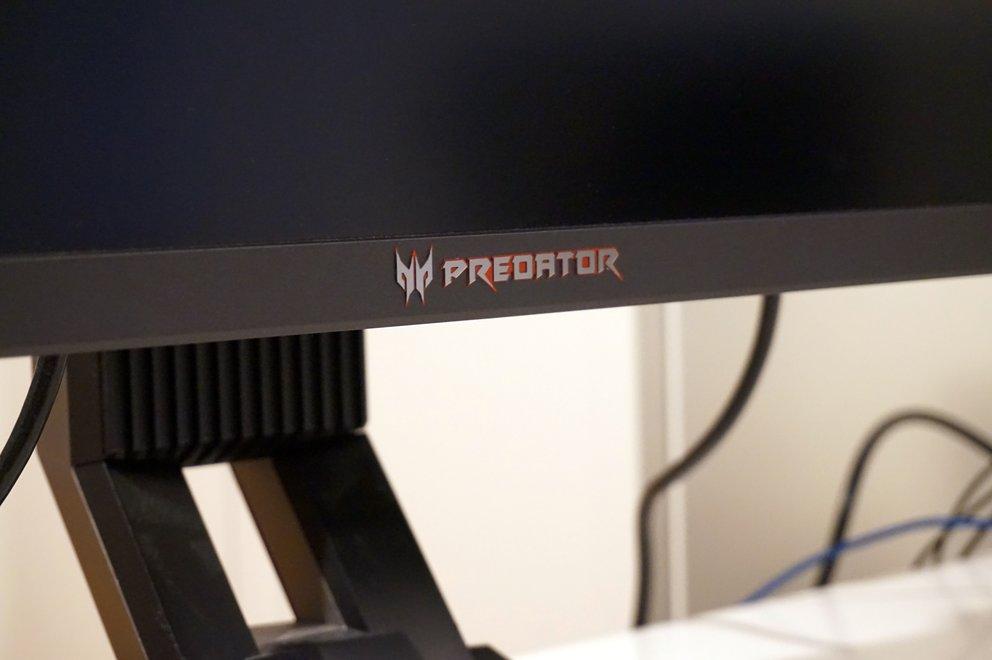 Der Monitor gehört zur Predator-Serie – wer hätte es gedacht?