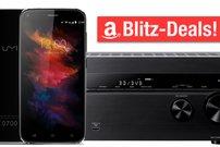 Blitzangebote: Induktive Ladestation, Sony AV-Receiver, BenQ-Beamer, Android-Smartphones u.v.m. stark reduziert