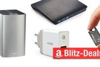 Blitzangebote:<b> USB-C-VGA-Adapter, RAID-System, DVD-Brenner und mehr günstiger</b></b>