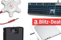 Blitzangebote:<b> 480-GB-SSD zum Einbauen, mechanische Tastatur, Belkin Rockstar und mehr heute günstiger</b></b>