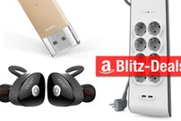Blitzangebote:<b> Lightning-Stick, Rucksack, USB-Steckdosenleiste u.v.m. heute günstiger</b></b>