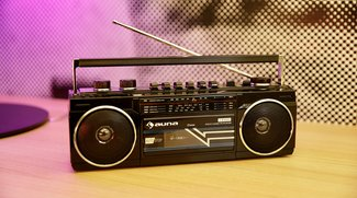 Boombox im Retrodesign: Auna Duke im Test