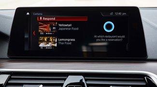 BMW und Microsoft holen Cortana ins Auto