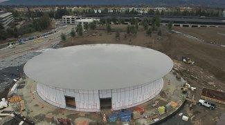 Apple Campus 2: Bauarbeiten nähern sich dem Abschluss