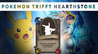 Pokémon & Hearthstone: Fan kreiert Mash-up Karten