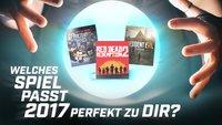 Game-o-Mat 2017: Hier erfährst Du, welches Spiel in diesem Jahr perfekt zu Dir passt