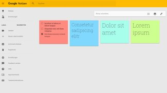Google Keep (Google Notizen)