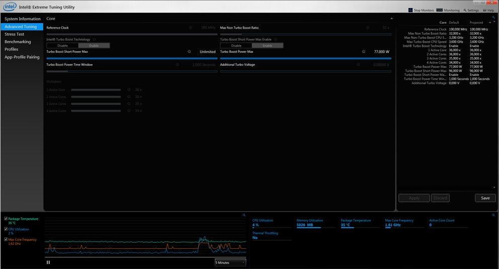Intel-Extreme-Tuning-Utility