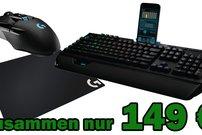 Logitech Gaming Pro Bundle für 149 € – mechanische RGB-Tastatur + Wireless Gaming-Maus + Gaming Mouse Pad