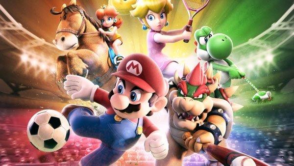 Im März kannst Du mit Super Mario Fußball spielen