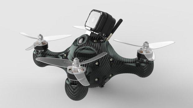 Perfekt für Bruchpiloten: Diese Drohne ist unzerstörbar