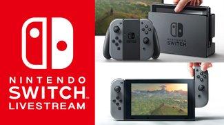 Nintendo Switch: Hier kannst Du den Livestream sehen