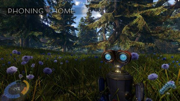 Phoning Home verbindet Wall-E, Enslaved und No Man's Sky zu einem außergewöhnlichen Spiele-Erlebnis