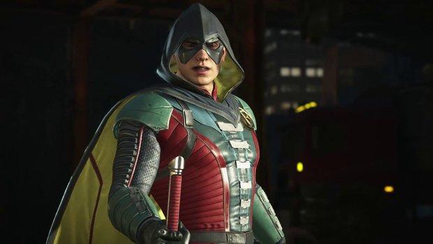 Injustice 2: Robin vermöbelt seinen Kumpel Batman im Gameplay-Video