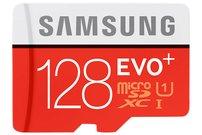 Samsung EVO Plus 128 GB microSDXC-Speicherkarte, 128 GB, 80 MB/s, Class 10 für 29 Euro