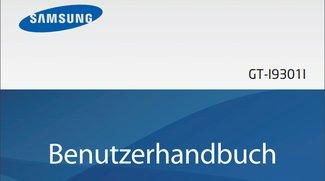 Samsung Galaxy S3 Neo Bedienungsanleitung