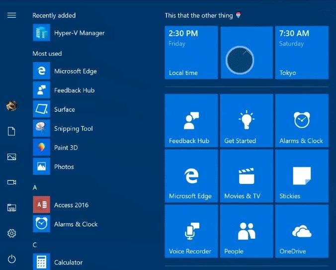 Windows 10 Startmenue Ordner