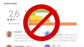 Google-Bewertung löschen – so geht's