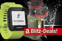 Blitzangebote: Garmin GPS-Uhr, wasserdichter BT-Lautsprecher, PowerBank und BT-Ohrhörergünstiger