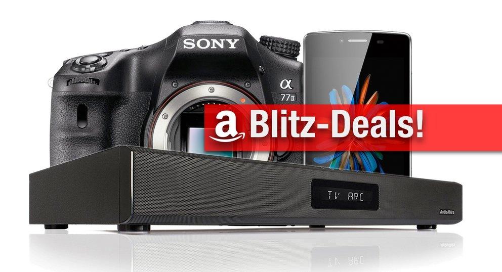 Blitzangebote: Sony ILCA Alpha 77 IIQ SLR, Soundbar, Powerbank mit 50.000 mAh zum Bestpreis
