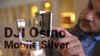 DJI Osmo Mobile Silver im Hands-On: Anti-Wackel-Stativ für Smartphone-Kameras angeschaut