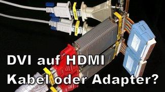 DVI auf HDMI – Verbinden mit Adapter oder Kabel?