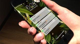 Display des iPhone 8 angeblich doch gebogen –aber nur ein bisschen