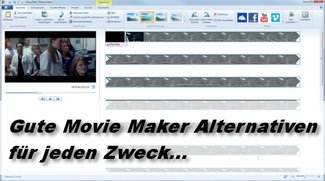 Diese Movie Maker Alternativen sind empfehlenswert
