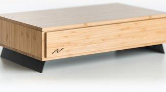 Diese schicke Holzbox ist in Wirklichkeit ein Gaming-PC