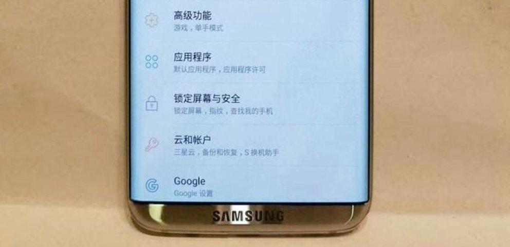 In voller Pracht: Samsung Galaxy S8 posiert vor der Kamera