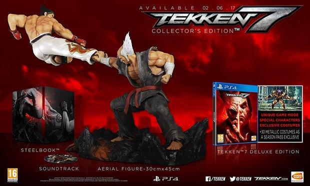 Tekken 7: Editionen, Vorbestellerbonus und Season Pass