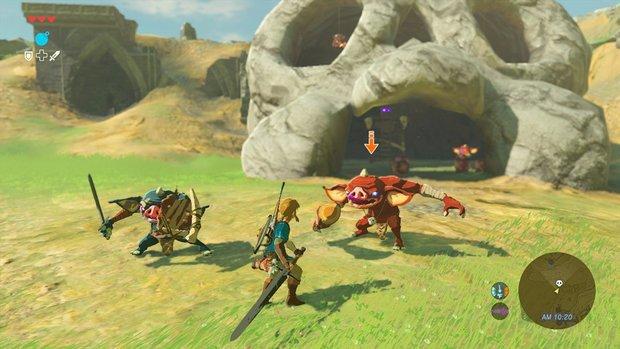 Zelda - Breath of the Wild: Switch vs. Wii U - Unterschiede im Detail