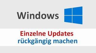 Windows: Einzelnes Update rückgängig machen – so geht's