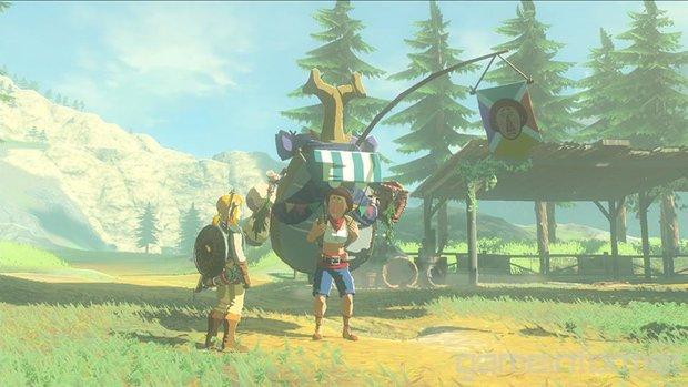 The Legend of Zelda: Dieser Charakter ist auch in Breath of the Wild