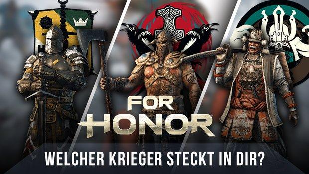 For Honor: Welche Fraktion passt zu Dir?