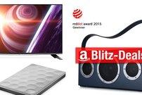 Blitzangebote: AirPlay-Lautsprecher, SSD, Ultra-HD-TV u.v.m. günstiger