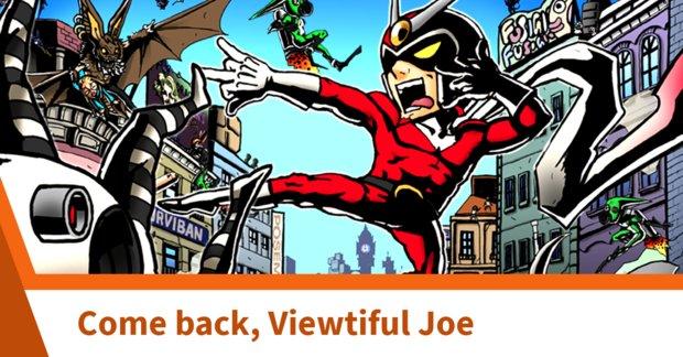 Darum braucht die Switch ein Comeback von Viewtiful Joe
