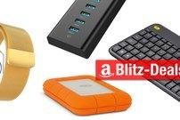 Blitzangebote: Milanaise Loop, Logitech-Keyboard mit Trackpad, USB-Hubs und mehr