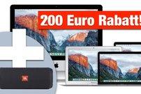 Knaller! 200 € Sofortrabatt + JBL Flip 3 bei MacTrade – MacBook Pro mit Touchbar zum Bestpreis