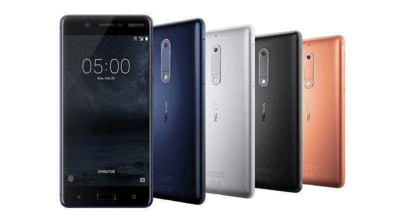 Nokia-5-Farben