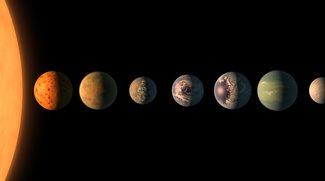 Forscher entdecken 7 Planeten: Wasser und Leben wie auf der Erde möglich