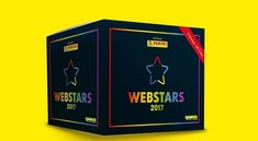 Webstars 2017: Panini-Stickeralbum mit YouTube-Stars