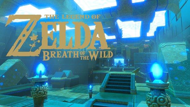 The Legend of Zelda - Breath of the Wild: Details zu den Dungeons des Spiels