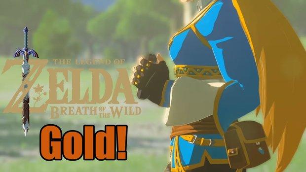The Legend of Zelda - Breath of the Wild: Gold Status verkündet und Video zum Pro-HUD