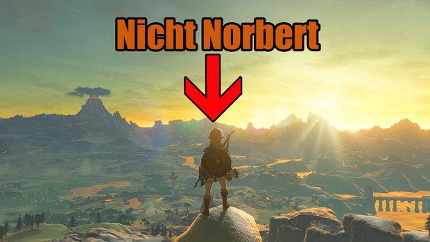 The Legend of Zelda: Name in Breath of the Wild nicht änderbar