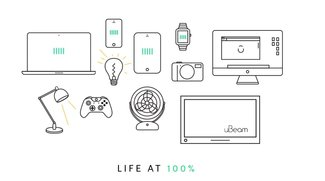 Videobeweis: Ubeam lädt Smartphone drahtlos per Ultraschall