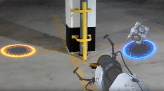 Microsoft HoloLens: Dieses Video zeigt Portal in der realen Welt